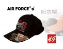 F16老鷹棒球紀念帽(紅)