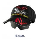 飛行員帽式太陽眼鏡 V黑
