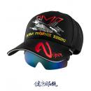 飛行員帽式太陽眼鏡 V藍