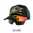 飛行員帽式太陽眼鏡 B黑