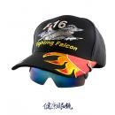 飛行員帽式太陽眼鏡 B藍
