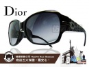 Dior-時尚太陽眼鏡皮革風格款