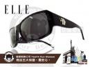 ELLE-時尚太陽眼鏡金屬圖騰款