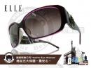 ELLE-時尚太陽眼鏡大框圓圖騰款