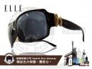 ELLE-時尚太陽眼鏡環狀造型款