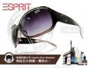 ESPRIT-時尚太陽眼鏡漸層大LOGO款