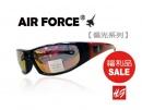 【福利品促銷】AIR FORCE偏光運動款太陽眼鏡紅水銀-【編號:SF03】