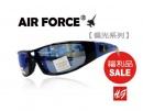 【福利品促銷】AIR FORCE偏光運動款太陽眼鏡藍水銀-【編號:SF06】