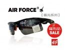 【福利品促銷】AIR FORCE偏光運動款太陽眼鏡-偏光灰【編號:SF16】